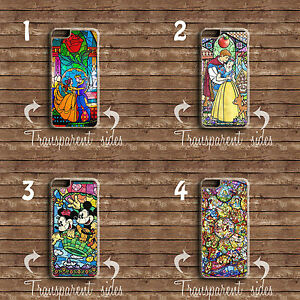 Details about DISNEY STAINED GLASS PRINT CHARACTERS PHONE CASE COVER IPHONE  & SAMSUNG MODELS