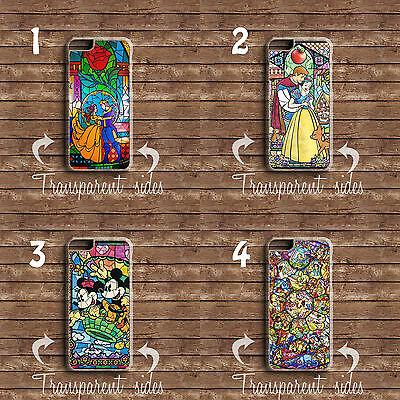 Disney vitraux imprimer caractères housse téléphone iphone & samsung modèles   eBay