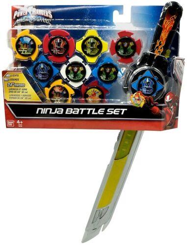 Power Rangers Ninja Acier Ninja Battle Set Exclusive Lights /& Sounds