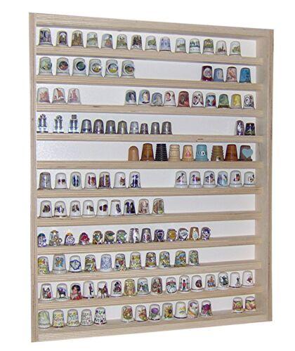 Vitrine murale 41 x 52 x 5 cm collection miniature collecteur dé à coudre V75