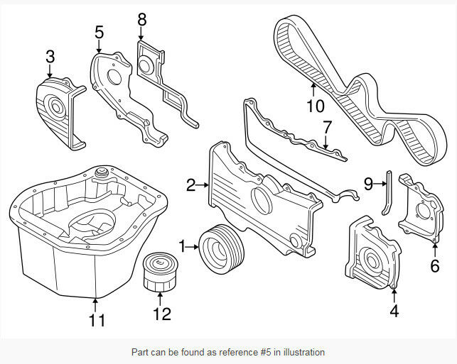 13568aa035 Cover Aybelt No2 Subaru Genuine Oem Part For Sale Online