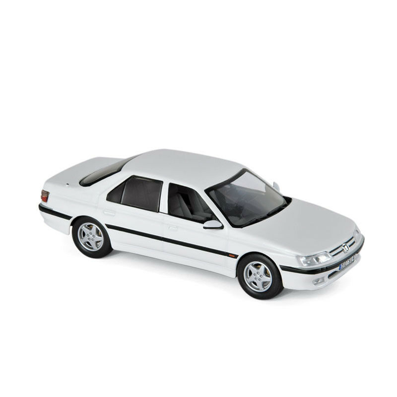 Norev 476503 Peugeot 605 White 1998 Scale 1 43 Model Car New  °