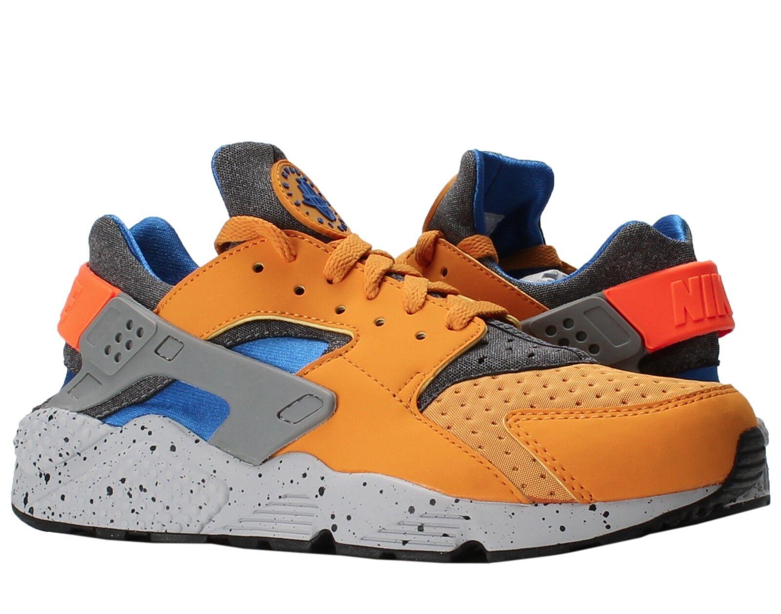 low cost c0913 6cbe7 70%OFF Nike Air Huarache Run SE Gold Leaf Hyper Cobalt Men s Running Shoes