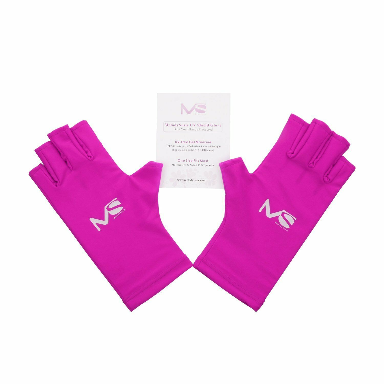Protect Hand Gloves UV Curing Lamp Nail Polish GEL Manicure Light ...