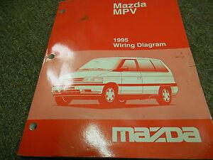 1995 Mazda    MPV       Van    Electrical Wiring    Diagram       Service       Repair       Shop    Manual 95   eBay