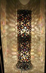 Floor Lamp Cutwork Colourful Jewels