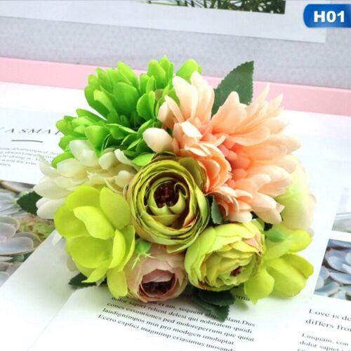 Artificial Fake Hanging Flowers Vine Plant Wedding Home Garden Outdoor Decor !