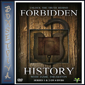 Details about FORBIDDEN HISTORY - COMPLETE SERIES 1 & 2 - JAMIE THEAKSTON  **BRAND NEW DVD ***