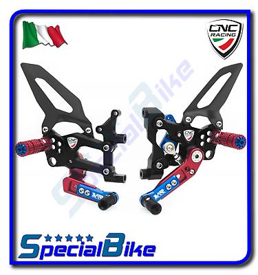 Ducati 899 Panigale 2014 > 2015 Set Pedane Regolabili Cnc Racing Rps Le Van Het Grootste Gemak