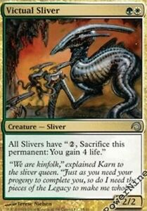 4 PreCon FOIL Might Sliver Green PDS Slivers Mtg Magic Uncommon 4x x4