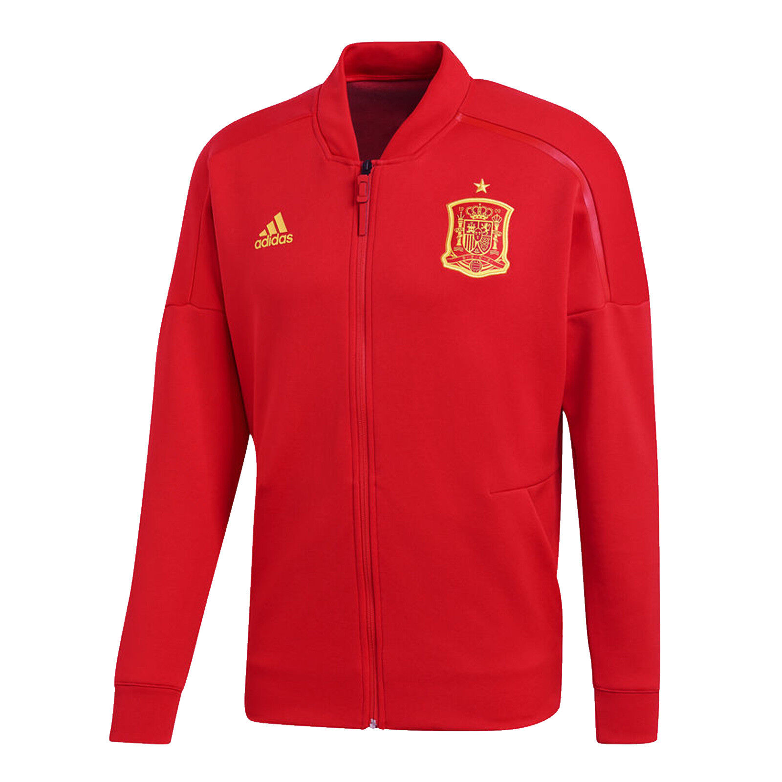 Adidas Spain ZNE Jacket Mens Football Track Top New   eBay 2aeba453e6