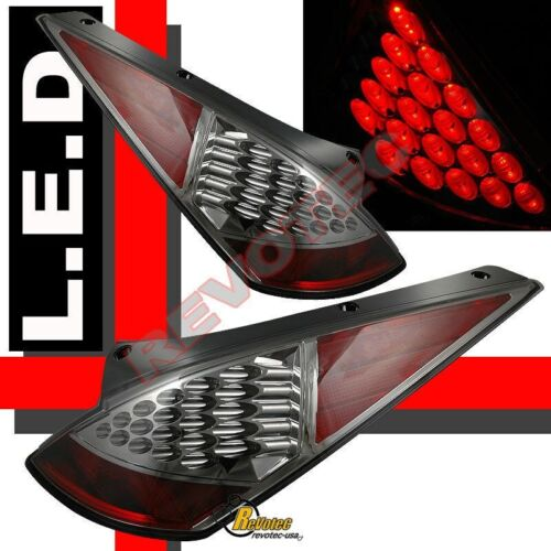 Smoke LED Tail Lights For 03 04 05 Nissan 350z Z33 Fairlady Plug /& Play 1 Pair