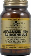 Advanced 40+ Acidophilus, Solgar, 120 capsule