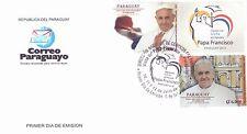 2015 Visita di Papa Francesco in Paraguay - fdc