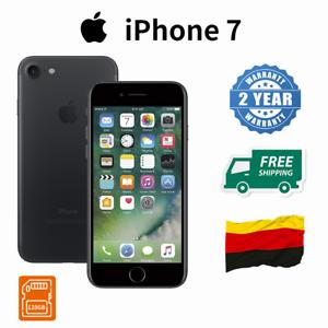neu apple iphone 7 128gb schwarz ohne simlock smartphone handys ovp de ebay. Black Bedroom Furniture Sets. Home Design Ideas