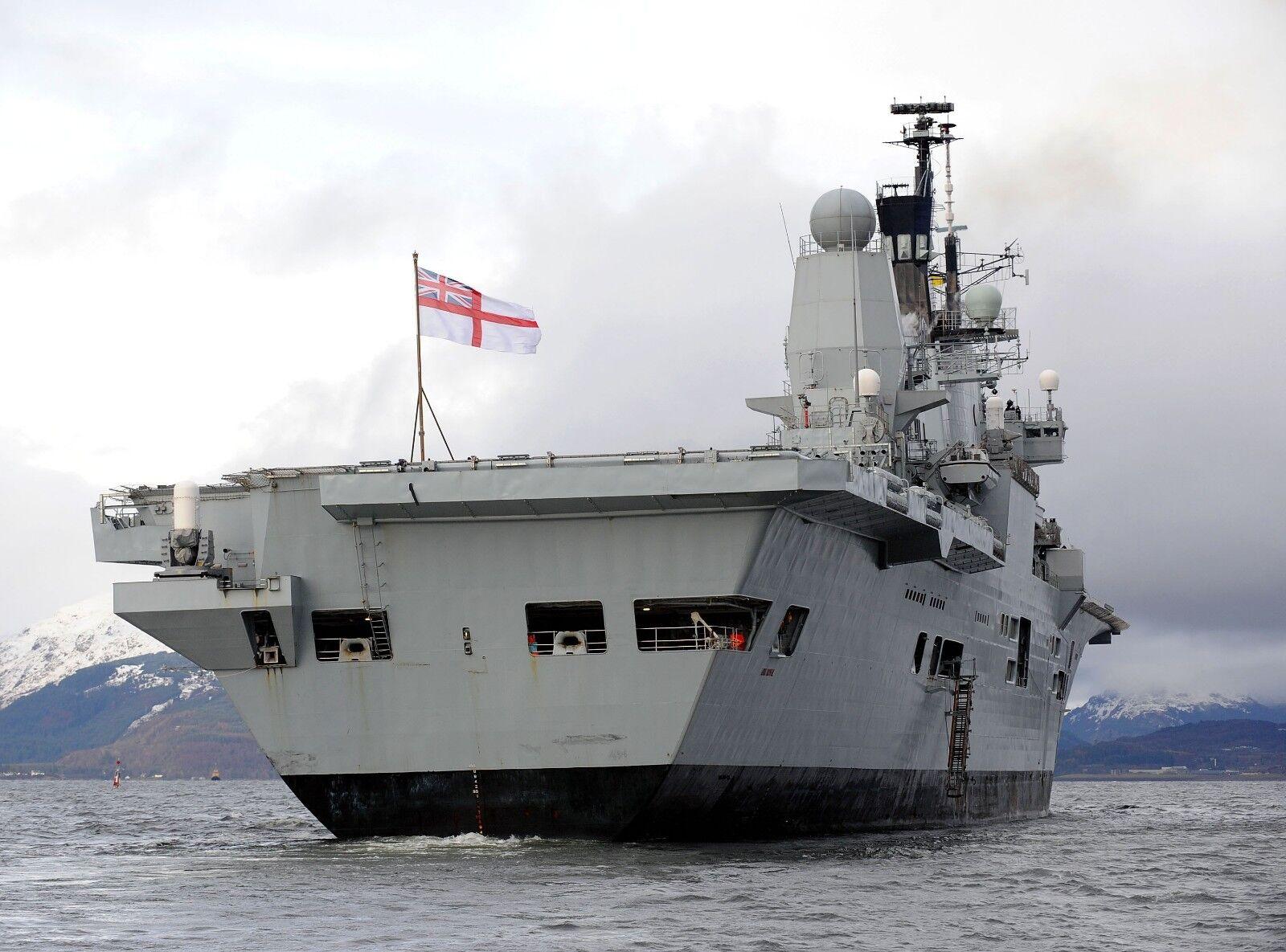 HMS ARK ROYAL     Photo Picture Print