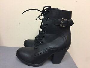 Rouge Black Boot Size 7