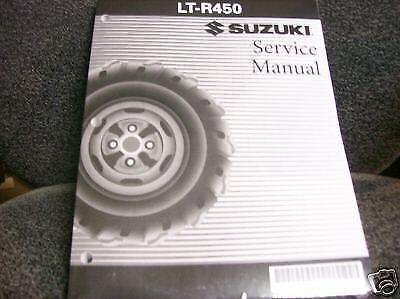Suzuki Ltr450 450 Quad Racer Ltr 450r Repair Service Shop Manual Book