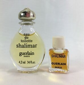 2ml About Shalimar Details Of Vintage Micro Lot 2 Extrait Perfume MiniEdt Guerlain Parfum 4 ON8nXP0wk