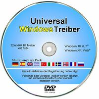 Treiber Cd/dvd Für Notebook & Pc - Dell, Lenovo, Hp, Acer, Ibm, Acer, Lg Uvm.