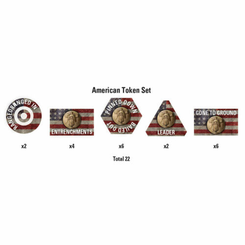 Flames of War The Great War American Token Set FOW GTK03