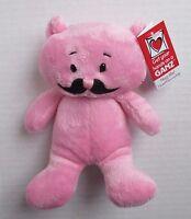 E Pink Bear 7.5 Mustache Friends Plush Ganz Hug Me