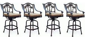 Patio-palm-tree-cast-aluminum-barstool-set-of-4-outdoor-swivel-bar-stools-Bronze