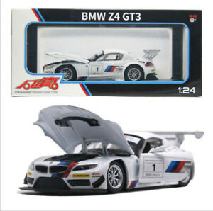 1-24-BMW-Z4-GT3-Cars-Model-Alloy-Sound-Light-Pull-Back-Toys-Gifts-Simulation-Kid