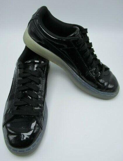 Mens Puma Basketball Patent Leather Ice