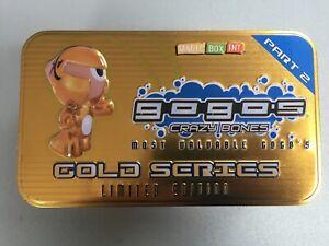 Gogo's Crazy Bones Série Gold, édition limitée, partie 2 8431618001387