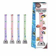Colori cangianti LED bolle d'acqua pesce del pavimento Tubo Lampada Luce Novità Sensoriale Stato d'animo