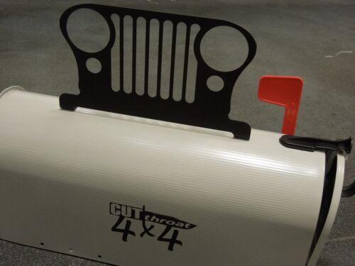 Jeep Mailbox Toppers YJ JKU XJ Cherokee TJ JK Powdercoated CJ