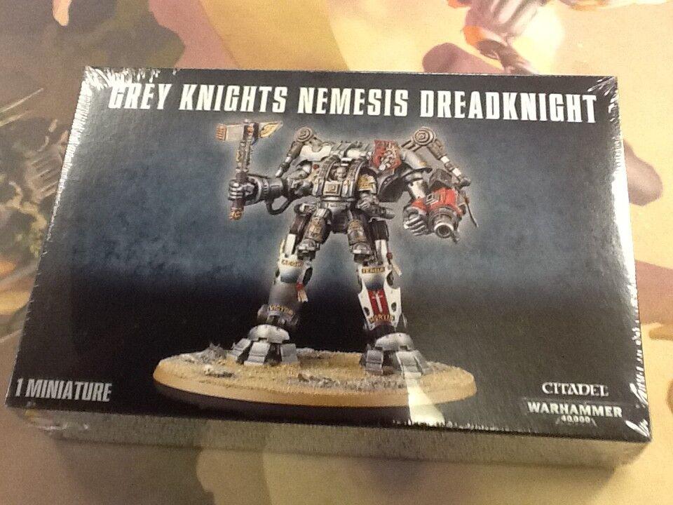 40K Warhammer grau Knights Nemesis Dreadknight NIB NIB Dreadknight Sealed e97618
