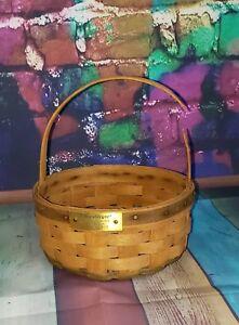 Longaberger Christmas Basket.Details About Longaberger Christmas Collection 1985 Green Cookie Basket Damaged