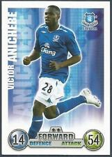 TOPPS MATCH ATTAX 2007-08 TRADING CARD-EVERTON-VICTOR ANICHEBE