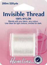Hilo invisible Usar para mezcla invisible con telas & teñido Hilos 200m