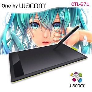one by wacom ctl 671 bamboo splash pen tablet drawing tablet for pc