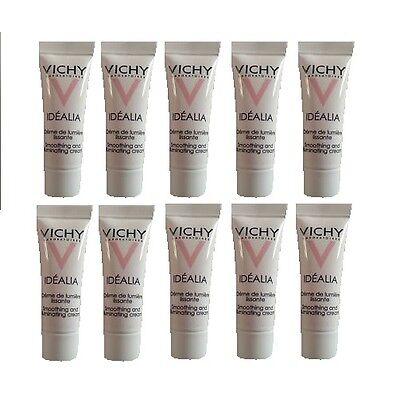 VICHY Idealia Glättende Creme für natürliche Leuchtkraft Mini,10 x 3ml Hautcreme
