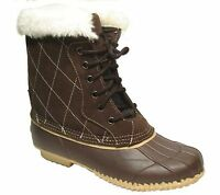 Womens Superior Boot Company Brown Fernie Duck Boots Size 6m 6 M