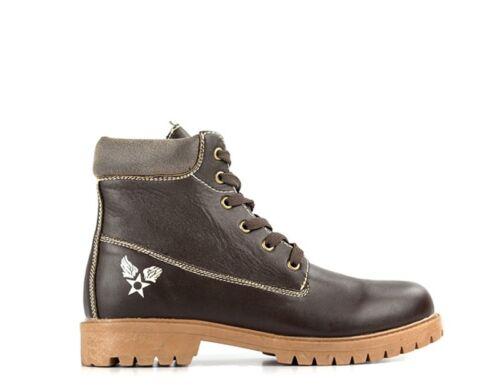 Chaussures AVIREX Homme MARRONE PU RFM102MAS