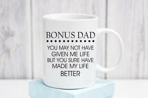 Bonus-Dad-Mug-Step-Dad-Mug-Step-Dad-Gifts-Father-039-s-Day-Mug-Father-039-s-Day-Gift