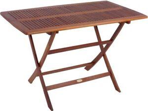 Das Bild Wird Geladen Klapptisch Holztisch Gartentisch Klappbar Tisch Garten  Holz Gartenmoebel