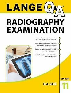 Lange Q A Radiography Examination 11th Edition By D A Saia 2018