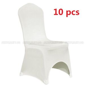 10-Stretched-Spandex-Chair-Cover-Fitted-Arched-Front-Wedding-Party-Banquet-Ivory