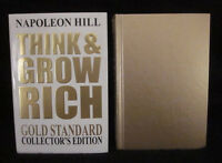 Napoleon Hill Think & Grow Rich Gold Standard Collector's Edition Rare