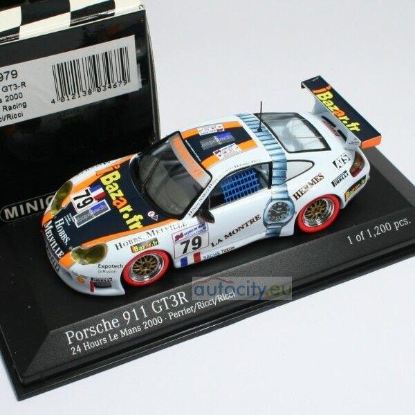 MINICHAMPS PORSCHE 911 GT3R 24 HOURS  LE MANS PERRIER RICCI RICCI 430006979
