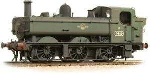 Graham-Farish-371-988-Class-64xx-0-6-0-6419-BR-Late-Green-Weathered-N-GAUGE