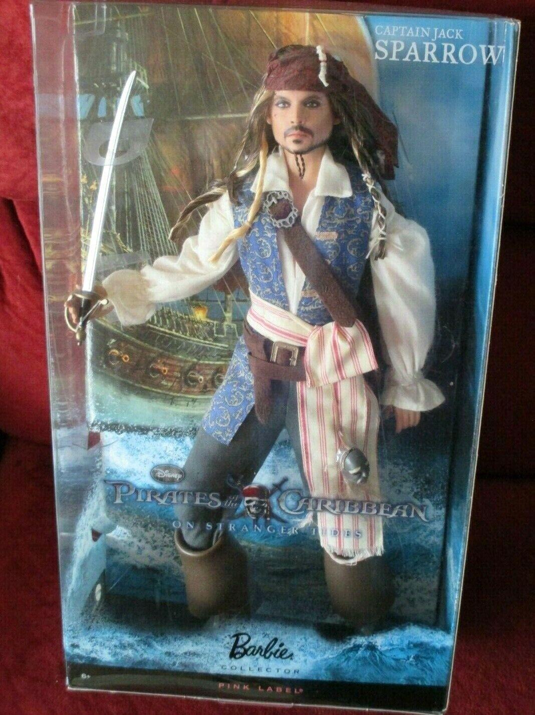 Captain Jack Sparrow doll OOAK Doll Jack Sparrow Textile doll Captain Jack Sparrow Art doll pirate Jack Interior doll Jack Sparrow