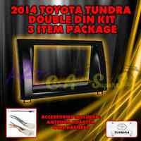 2014 Toyota Tundra Double Din Radio Installation Kit Bktoyk968 With Accessories