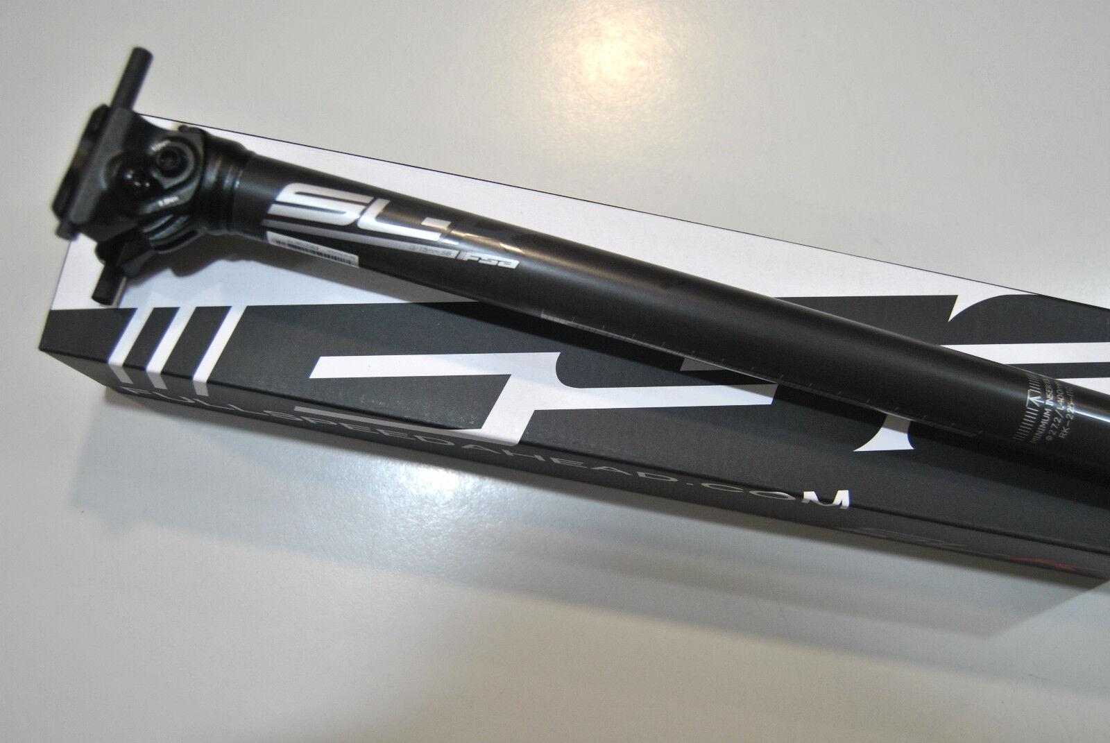 Reggisella Fsa Mod.SLK ITC SB0 15mm  L400mm Logo gris SEATPOST FSA SL-K ITC SB0